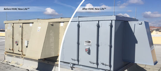 HVAC New Life Before and After