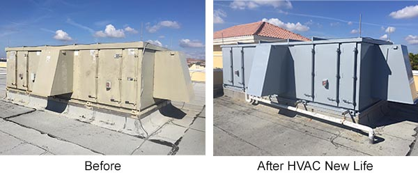 HVAC New-Life Exterior Example