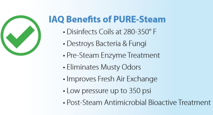 Pure Steam Benefits