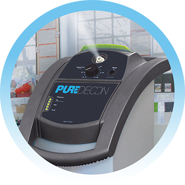 Pure Decon machine