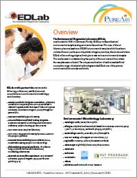 Environmental Diagnostics Laboratory Overview