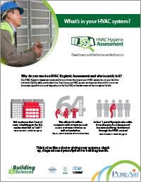 HVAC Hygienic Assessment Brochure - View Now