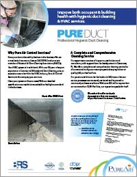 PURE-Duct Hygienic Duct Cleaning