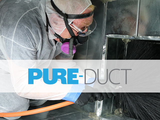 PURE-Duct cleaning in action