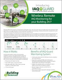 IAQ-Guard Real-Time Monitoring Program