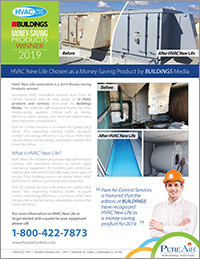 HVAC New Life Wins Buildings Cost Saving Product 2019