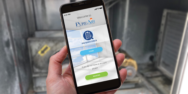 IAQ App from Pure Air Controls