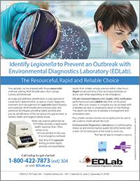 EDLab Legionella Testing CDC Elite