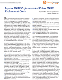 Energy Services Today HVAC Restoration DEC 2019