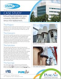 HVAC New Life Exhaust Hood Case Study