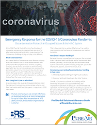 View Our Coronavirus Solutions and Resources PDF