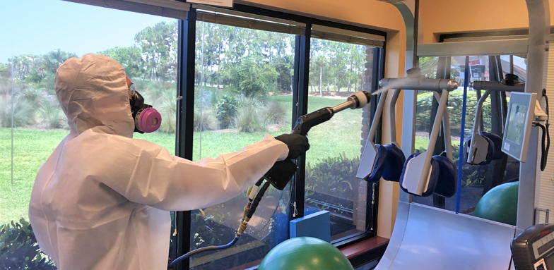 Better Building Disinfection - Gym