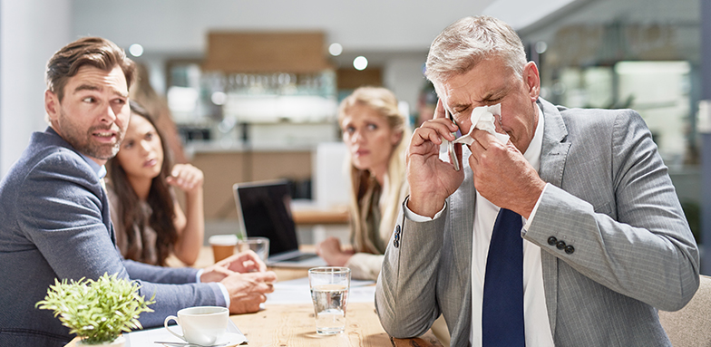 Allergies and Covid Often Confused